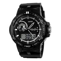 Часы Skmei Мод.1070, черные, в металлическом боксе
