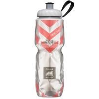 Термобутылка Polar Bottle Chevron (720мл), red