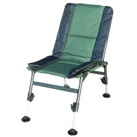 Кресло карповое складное Ranger Fish Guets (69х44х38см), зелёное/черное