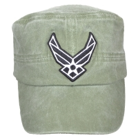 Кепка Eagle Crest Usaf Logo Flat Top-5, оливковая