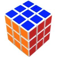 Головоломка Кубик Рубика (3х3см), пластик