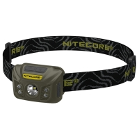 Flashlight Nitecore NU30 (Сree XP-G2 S3, 400 Lumens, 6 modes, USB), Army Green