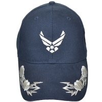 Кепка Eagle Crest Air Force(Hap Only) W/Bolts, темно-синяя