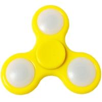 Спиннер светодиодный (75х75х6мм), желтый