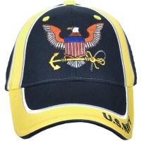 Кепка Eagle Crest U.S.Navy W/Logo, синяя/желтая