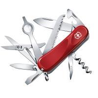 Нож складной, мультитул Victorinox Evolution 23 (85мм, 17 функций), красный 2.5013.E
