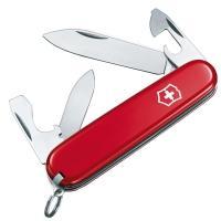 Нож складной, мультитул Victorinox Recruit (84мм, 10 функций), красный 0.2503