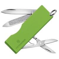 Нож складной, мультитул Victorinox Tomo (58мм, 5 функций), зеленый 0.6201.А2