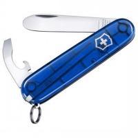 Нож складной, мультитул детский Victorinox My First (84мм, 8 функций), синий 0.2363.Т2