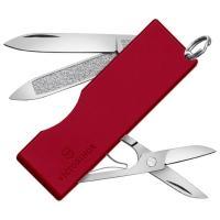 Нож складной, мультитул Victorinox Tomo (58мм, 5 функций), красный 0.6201.А