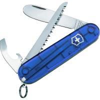 Нож складной, мультитул детский Victorinox My First (84мм, 9 функций), синий 0.2373.Т2