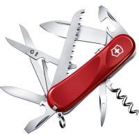 Нож складной, мультитул Victorinox Evolution S17 (85мм, 15 функций), красный 2.3913.SE