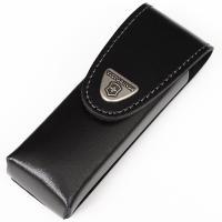 Чехол кожаный для ножей Victorinox (111мм, до 4х слоев), чёрный, на липучке 4.0523.3