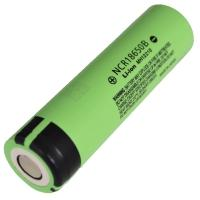 Battery lithium Panasonic NCR 18650 B (3.7V, 6.8A, 3400mAh)