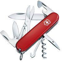 Нож складной, мультитул Victorinox Climber (91мм, 14 функций), красный 1.3703