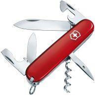 Нож складной, мультитул Victorinox Spartan (91мм, 12 функций), красный 1.3603