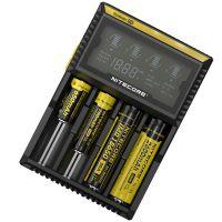 Charger Nitecore Digicharger D4 with LED display (4 channel)