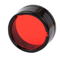 Diffuser filter for flashlights Nitecore NFR25 (25mm), red