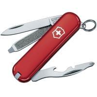 Нож складной, мультитул Victorinox Rally (58мм, 9 функций), красный 0.6163