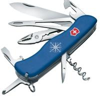 Нож складной, мультитул Victorinox Skipper (111мм, 17 функций), синий 0.9093.2W