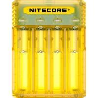 Зарядное устройство Nitecore Q4 (4 канала), желтое