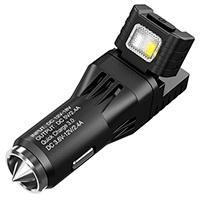 2 в 1 - Фонарь от прикуривателя + автомобильное зарядное устройство Nitecore VCL10 (25 люмен, 2 реж)