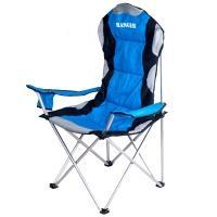 Кресло складное туристическое Ranger SL 751 (111х58х48см), синий/черный