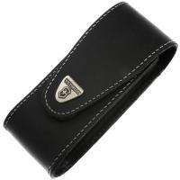 Чехол для ножей Victorinox Jumbo (111мм, до 10 слоев) кожаный, на липучке, черный 4.0524.XL