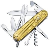 Нож складной, мультитул Victorinox Climber Gold Limited Edition 2016 (91мм, 14 функций) 1.3703.T88