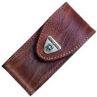Чехол для ножей Victorinox (84-91мм, 5-8 слоев) кожаный, коричневый 4.0545