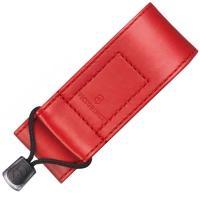Чехол для ножей Victorinox (91-93мм, 2-4 слоя) на липучке, кож. зам., красный 4.0480.1
