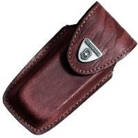 Чехол для ножей Victorinox (84-91мм, 5-8 слоев) кожаный, на липучке, коричневый 4.0535