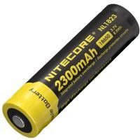 Аккумулятор литиевый Li-Ion 18650 Nitecore NL1823 3.7V (2300mAh), защищенный