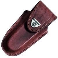 Чехол для ножей Victorinox (111мм, 5-8 слоев) кожаный, на липучке, коричневый 4.0538