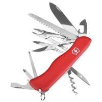 Нож складной, мультитул Victorinox Hercules (111мм, 18 функций), красный 0.9043