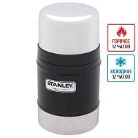 Термос для еды Stanley Classic (0.5л), черный