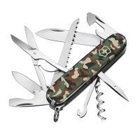 Нож складной, мультитул Victorinox Huntsman (91мм,15 функций), камуфляж 1.3713.94