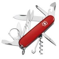 Нож складной, мультитул Victorinox Explorer (91мм,16 функций), красный 1.6703