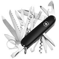 Нож складной, мультитул Victorinox Swisschamp (91мм, 33 функции), черный 1.6795.3