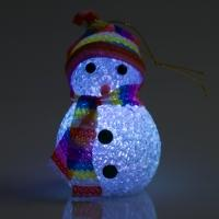 Светильник-снеговик (1LED, высота: 80мм)