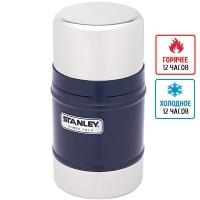 Термос для еды Stanley Classic (0.5л), темно-синий