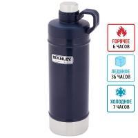 Термоc-бутылка Stanley Classic (0.62л), темно-синяя