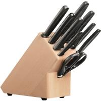 Набор кухонных ножей Victorinox (9 предметов), черный 5.1193.9