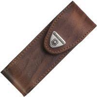 Чехол для ножей Victorinox (111мм, 4-6 слоев), кожаный, коричневый 4.0548
