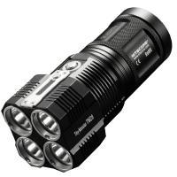 LED Flashlight Nitecore TM28 (4xCree XHP35 HI, 6000 lumens, 8 modes, 4x18650)