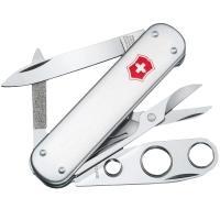 Нож складной, мультитул Victorinox Cigar Cutter (74мм, 5 функций), с чехлом, стальной 0.6580.16