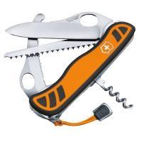 Нож складной, мультитул Victorinox Hunter Xt One Hand (111мм, 6 функций), оранжево-черный 0.8341.MC9