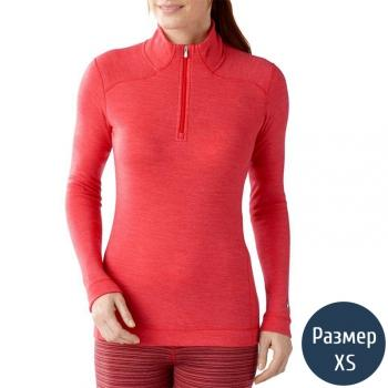 Термокофта женская Smartwool NTS (250 г/м2, XS), красная