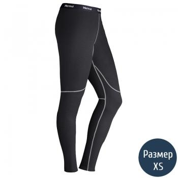 Термоштаны женские MARMOT Wm's ThermalClime Sport Tight (100 г/м2, XS), black 12760.001-XS