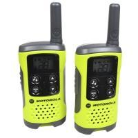 Рация Motorola TLKR T41 (0.5W, PMR446, 446 MHz, до 4 км, 8 каналов, 3xAAA), комплект 2шт., зеленая